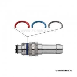 Метка цветовая, 2-10108-10000/P25 (Rectus DHX608KXXKXS). Parker. БРС для воды, БРС для охлаждения Быстроразъемные соединения