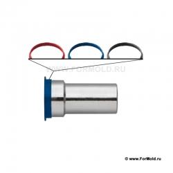 Метка цветовая, 2-10108-00000/P25 (Rectus DHX608SXXKXS). Parker. Для воды, для охлаждения, для нагрева пресс-форм.