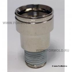 Муфта, 2-10108-00110 (Rectus 608SFAM10MXN). Parker БРС для воды, БРС для охлаждения, Быстроразъемные соединения