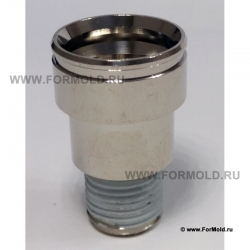 Муфта, 2-10112-00238 (Rectus 612SFAW17MXN). Parker  БРС для охлаждения, БРС для воды, Быстроразъемные соединения для охлаждения