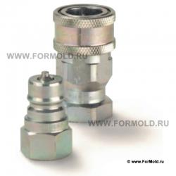 Муфта быстроразъемная с внутр. резьбой и клапаном. БРС ISO A. Гидравлические быстроразъемные соединения ISO 7241-1. БРС Parker