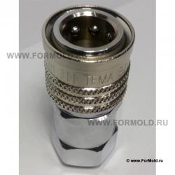 Муфта быстросъемная (Tema IB). БРС ISO B (ISO 7241-1 серия B) Быстросъемные гидравлические соединения. БРС для гидравлики