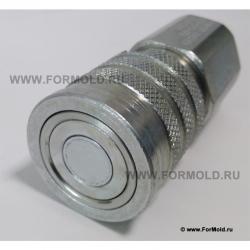 Муфта быстросъемная Parker FEM/Tema FEM. БРС ISO 16028 (ISO F). Быстроразъемные соединения для шлангов высокого давления