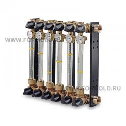 Ротаметр поплавковый многосекционный (Расходомер для воды), 6WB-RMS. Ротаметры металлические Wittmann Battenfeld 200/230
