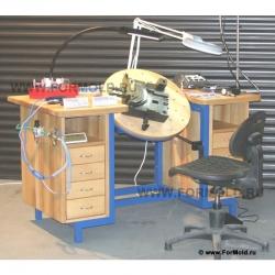 Поворотный стол для ремонта и обслуживания пресс-форм, ORBITA. (Ремонт, обслуживание, чистка, смазка)