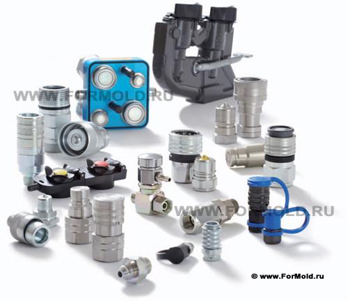 Гидравлические БРС Parker Tema Snap-Tite. Быстросъемные соединения для высокого давления. Стандарты ISO A (ISO 7241-1 series A). ISO B (ISO 7241-1 series B). ISO F (ISO 16028).
