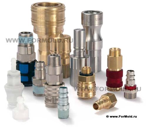 БРС Parker Rectus Tema. Быстросъемные соединения для воздуха, воды и других жидкостей и газов.