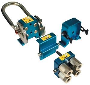 Parker Tema C-Line. Стандартная версия. C 7-контактным и 14-контактным электрическим разъемом. Соединение классической конфигурации TEMA с плоским герметизирующим уплотнением.