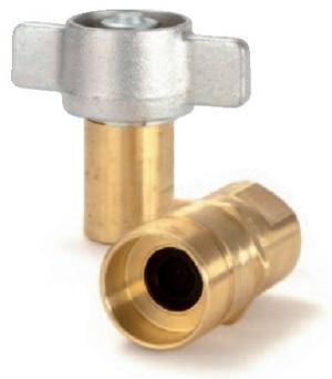 Parker 6100. Резьбовое соединение. Соединение и разъединение возможны при полном давлении в cистеме. Области применения: Самосвальные прицепы (для подсоединения тягача к питающему трубопроводу гидросистемы); Подсоединение  гидравлических линий на нефтепромысловом  оборудовании типа механических трубных ключей, стяжных замков и передвижных бурильных  установок; Скважинные насосы, стенды для испытания двигателей; Установки, где требуются  высокопрочные соединения.