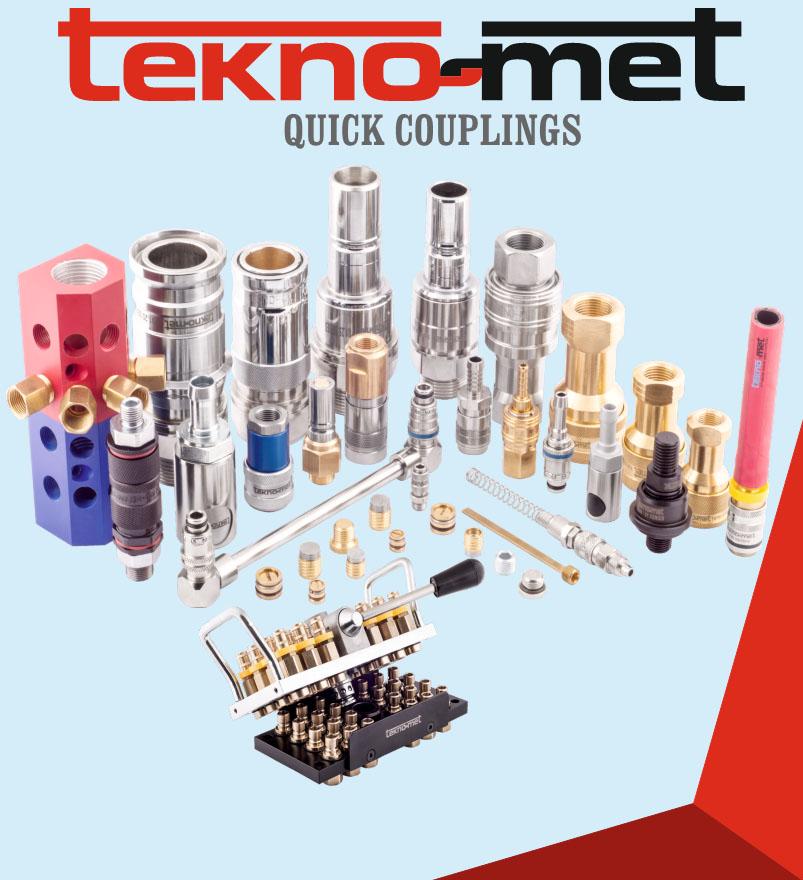 БРС Tekno-met (или Teknomet). Быстросъемные соединения для воды, гидравлики и пневматических систем